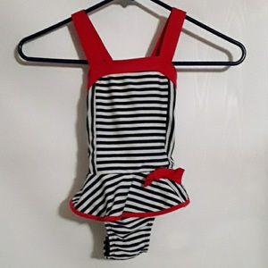 Cat and Jack one piece swimming suit. Size 3T.